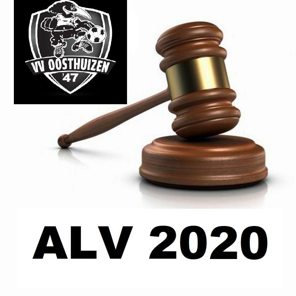 Algemene Ledenvergadering (ALV)  23-11-2020